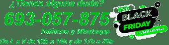 Contacto teléfono y whatsapp